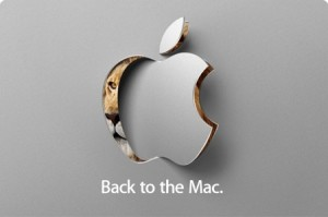 Apple Back to the Mac media event invite