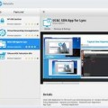 A mockup of HP's planned SDN App Store