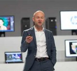Chimney Group CEO Henric Larsson at HP's workstations event