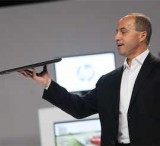 HP's Jim Zafarana shows off the company's new ZBook 14 mobile workstation